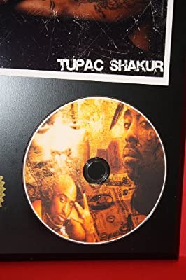 Tupac LTD Edition Picture Disc CD Rare Collectible Music Display