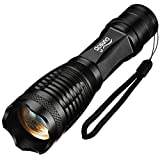 Flashlight Gosund T10 LED flashlights of 5 Modes Focus Zoomble Tactical Torches(T10-1)