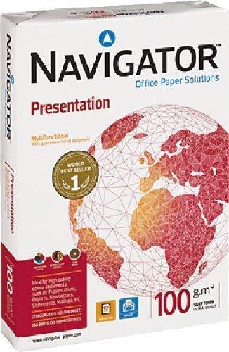 Navigator Presentation - Papel de impresión A4 100 g/qm 500 folios color blanco