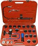 WIN.MAX 25pc Pneumatic Universal Radiator Pressure Tester & Vacuum Cooling System Kit