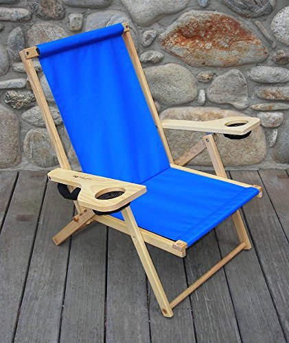 Outer Banks Folding Chair In Atlantic Blue