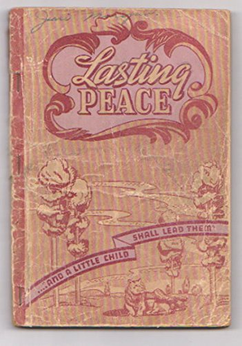 Stamps Baxter Music - Lasting Peace - 1942 Book for Singing Schools, Conventions, Etc.