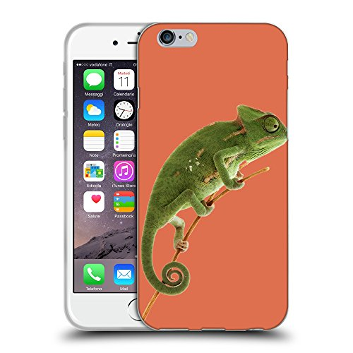 GoGoMobile Coque de Protection TPU Silicone Case pour // Q05680620 caméléon Terra Siena bruciata // Apple iPhone 7