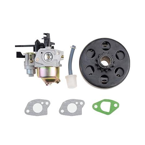 Amazon com: GOOFIT Carburetor with Centrifugal Clutch 12 T