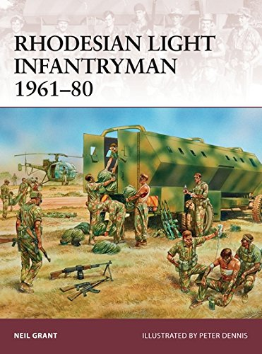 Book cover from Rhodesian Light Infantryman 1961–80 (Warrior) by Neil Grant