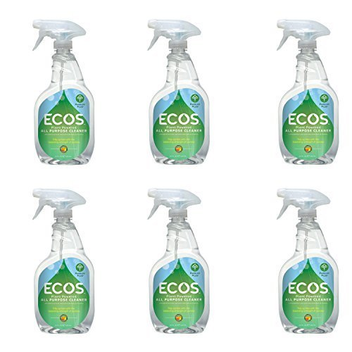 Parsley Spray Cleaner - Earth Friendly ECOS All Purpose Cleaner Parsley Plus 22 fl oz (6-Pack)