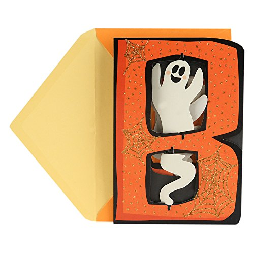 Hallmark Displayable Halloween Card (Boo Ghosts) -