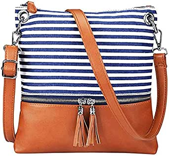 حقيبة للنساء-متعدد الالوان - حقائب طويلة تمر بالجسم