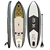 Aqua Marina Drift Fishing Inflatable Stand-up Paddle Board with Fish Cooler & Fishing Rod Holders