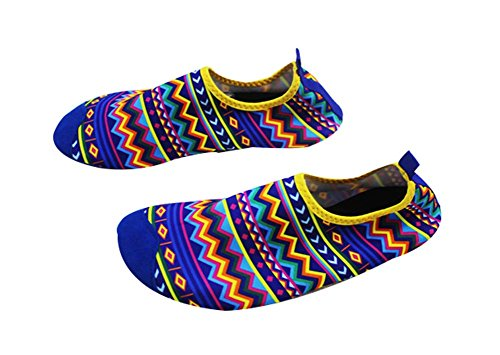 Strand-Schuhe Sportschuhe Wasserlaufband Schuhe Wanderschuhe Yoga Weiche Schuhe mehrfarbig