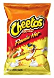 Cheetos Cheese Flavored Snacks, Crunchy Flamin' Hot, 2.38 Ounce