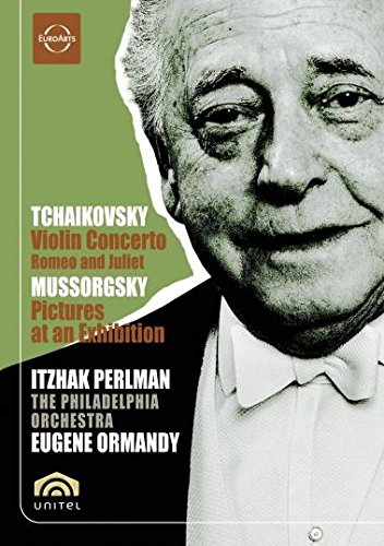 Tchaikovsky Violin Concerto & Mussorgsky Pictures at an Exhibition / Ormandy, Perlman, Philadelphia - Violin Orch