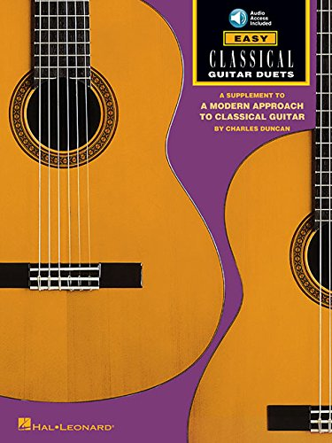 Classical Vocal Duets (Easy Classical Guitar Duets: Book/Online Audio)