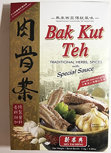 Bak Kut Teh Traditional Herbs, Spices with Special Sauce - 116g by Sin Tai Hing