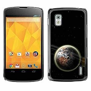 Shell-Star ( Space Planet Galaxy Stars 61 ) Fundas Cover Cubre Hard Case Cover para LG Google NEXUS 4 / Mako / E960