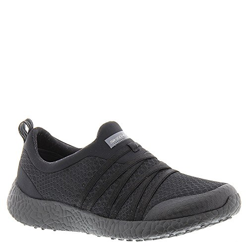 Skechers Mujer Slate Sport Burst Zapatillas Negro
