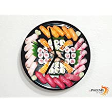 Sushi Plate - Wall Clock
