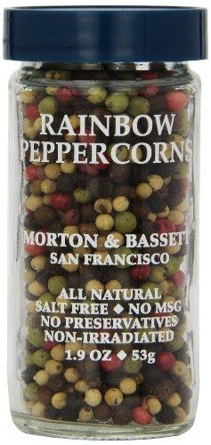 - Morton & Bassett Peppercorns, Rainbow (Whole), 1.9 Ounce