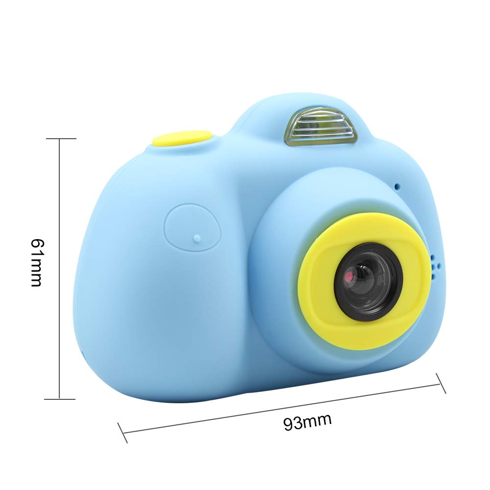 Kids Mini Camera Gifts for Girls and Boys, Rechargeable Shockproof Digital Camcorder Toy for Kids with Soft Silicone Shell - HD Screen Video Lens for Outdoor Play for 3-8 Years Old - 2PINK+2BLUE by Duddy-cam (Image #4)
