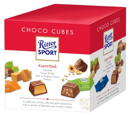 Ritter Sport Ritter Sport Choco Cubes, 5.1 Ounce