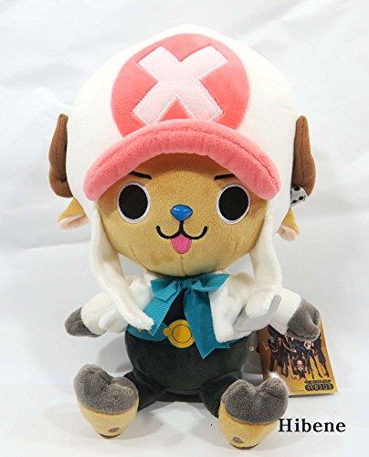One Piece Film Gold Ver, White Tony Chopper Authentic Stuffed Plush Doll 10