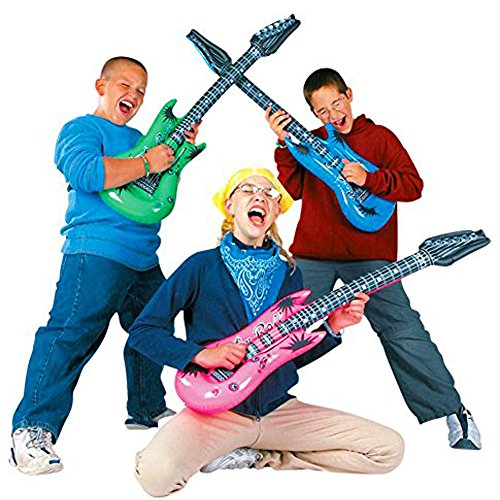 Toys & Hobbies Set Of 4 Inflatable Guitars