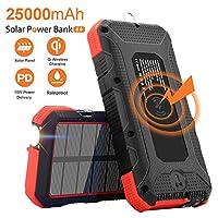 Solar Charger 25000mAh SendowTek 18W PD ...