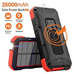 Image of the product Solar Charger 25000mAh that is listed on the catalogue brand of Sendowtek.