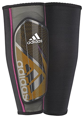 adidas Performance Ghost Pro Shin Guards, Solar Gold/Black/Shock Pink, Large