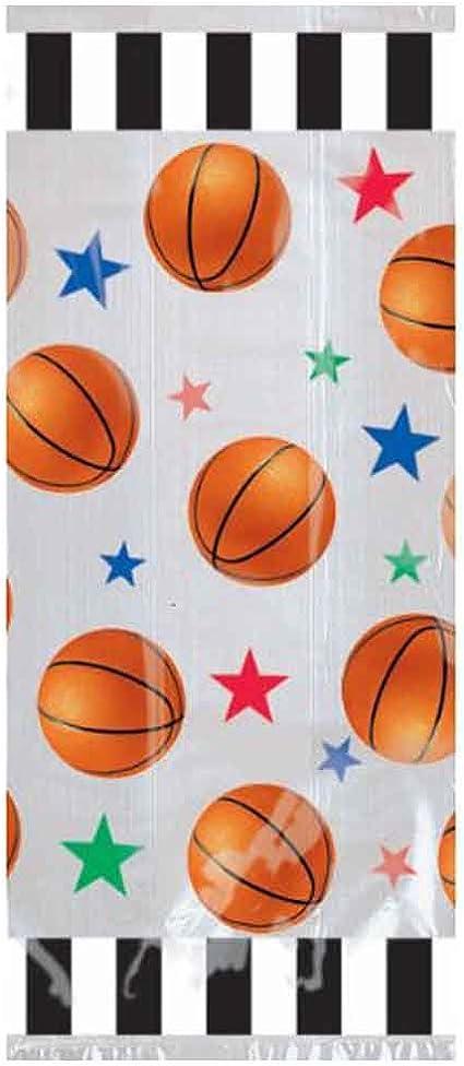 Amazon.com: Amscan - Bolsas de baloncesto para fiestas ...