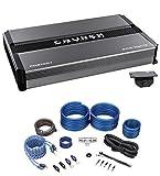 Crunch PD2100.1 2100 Watt Mono Car Stereo Amplifier Class AB Pro Power+Amp Kit