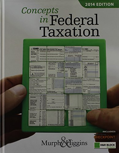 Concepts in Federal Taxation 2014