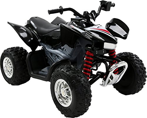 Honda TRX Kids 12V Ride-on ATV Quad, Black