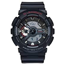 Casio Men's G-Shock GA110-1A Digital Resin Quartz Watch