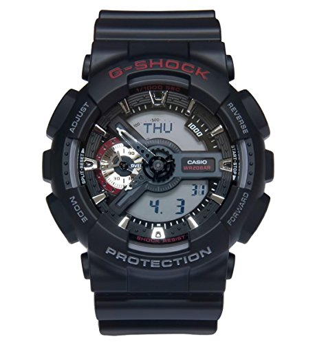 Casio GA110 1A G Shock Classic Analog Digital