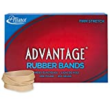 Alliance Sterling Advantage Rubber Band Size No.84 (3 1/2 x 1/2-Inch), 1 Pound Box (Approximately 150 Bands Per Pound) - 26845