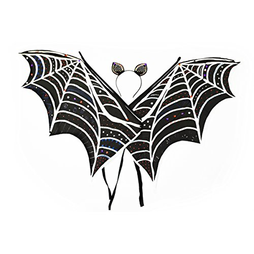 Bat Costume Ears (Design Your Own Bat Wings & Ears Kit)