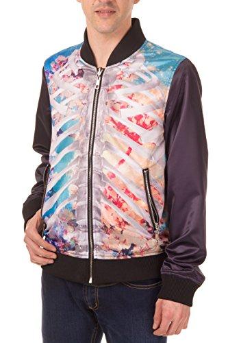 Banned-Ribcage-Skull-Reversible-Jacket
