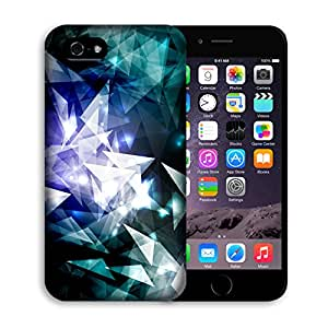 Iphone 6 plus Case, Casestars Nebula geometry galaxy pattern Protective 3D White Case Cover for Apple iPhone 6 plus 5.5