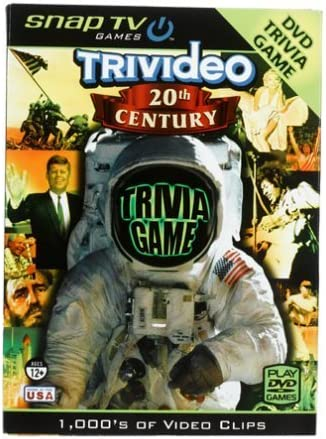 Snap TV Trivideo 20th Century DVD Trivia Game by Snap TV, Inc ...