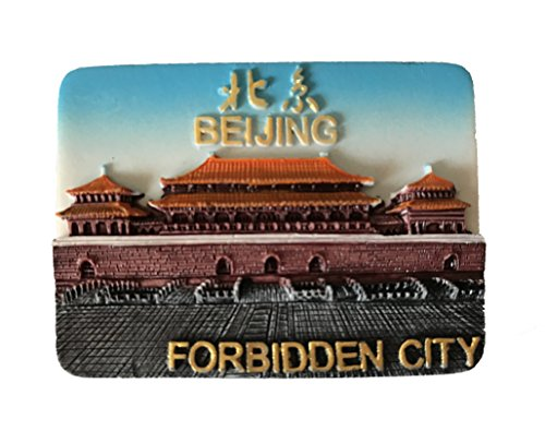 tor Magnet,Famous Tourist Souvenirs Forbidden City,Resin Fridge Magnet,Home and Kitchen Decoration ()
