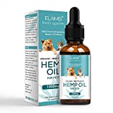Baiwka Hemp Oil for Dogs & Cats, Pure Organic Dog Calming Hemp Oil for Pets - 30ml/1500mg - Beef Flavour, Great for Pain Relief | Anxiety | Calming | Supplement for Joint & Hips