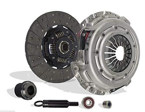(Clutch Kit Works with Chevrolet Blazer S10 C1500 P30 GMC Jimmy Savana Sonoma 1500 K1500 Ls Xtreme Envoy Diamond Base Sle Sl 1996-2003 4.3L V6 GAS OHV Naturally Aspirated)
