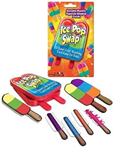 Winning Moves Games Ice Pop Swap - Color Matching Card Game Color Matching Game