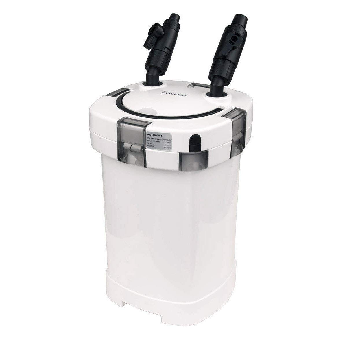 Aquarium External Canister Filter 1000L H