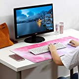 Gaming Mouse Pad, Large Mouse Pad XL Pink, Mouse