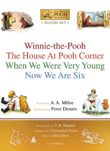 A. A. Milne's Pooh Classics Boxed Set by Milne, A. A./ Dennis, Peter (NRT)