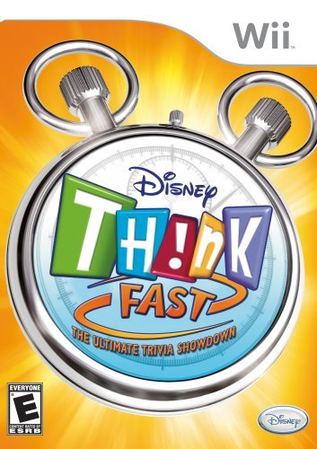 Disney Think Fast - Nintendo Wii (Think Fast Wii)