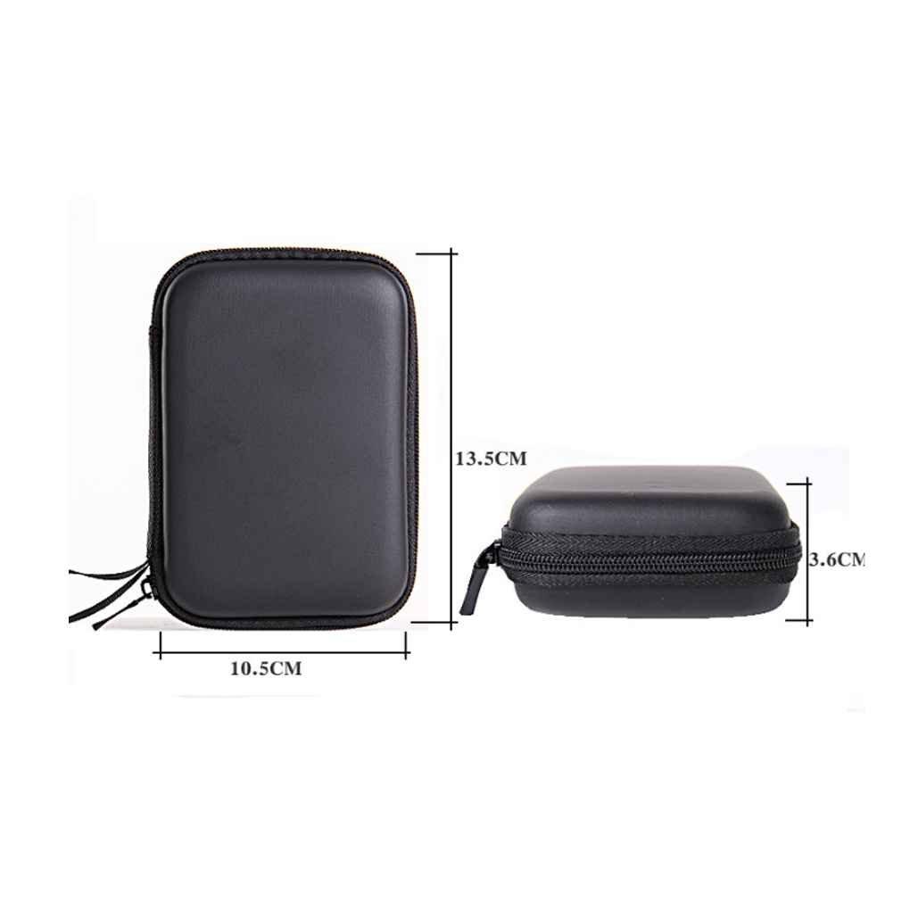 Boburyl Llevar a Prueba de Golpes Cubierta de la Caja Durante 2,5 USB Duro Externo Protege el Bolso