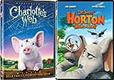 Horton Hears a Who Dr. Seuss & Charlotte's Web DVD Animated Cartoon Set